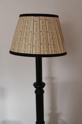 L'ATELIER DES ABAT-JOUR - Cone-shaped lampshade-L'ATELIER DES ABAT-JOUR-Conique 20 cm
