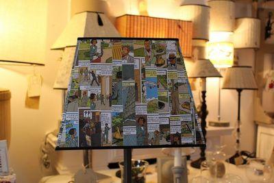 L'ATELIER DES ABAT-JOUR - Rectangular lampshade-L'ATELIER DES ABAT-JOUR-Rectangulaire BD