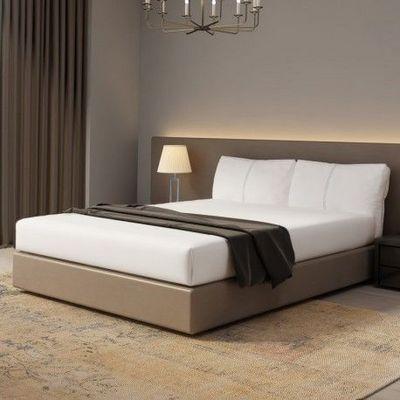 VOSGIA - Fitted sheet-VOSGIA-uni longueur 210 cm largeur 150