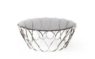 BOCA DO LOBO - Round coffee table-BOCA DO LOBO-Aquarius