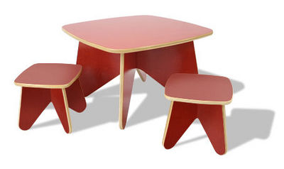 ECOTOTS - Children's table-ECOTOTS-Surfin Kids Project table