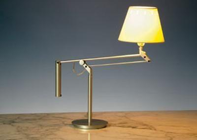 galilea desk lamp gold brass christopher wray