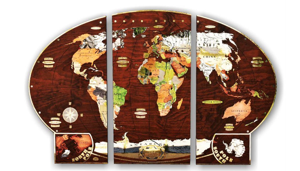 ITAS PLANISFERI Weltkarte Marinegegenstände Dekorative Gegenstände  |