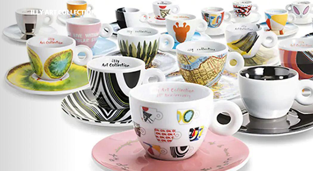Illy Cafe Kaffeetasse Tassen Geschirr  |