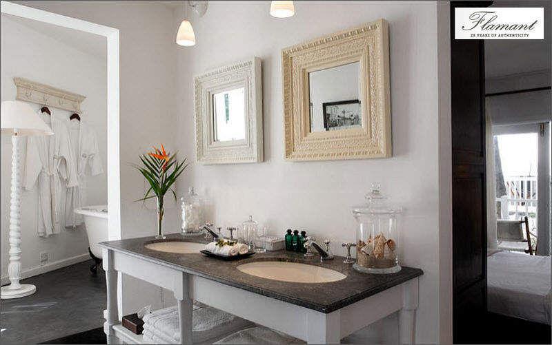 Flamant Doppelwaschtisch Möbel Badezimmermöbel Bad Sanitär Badezimmer  