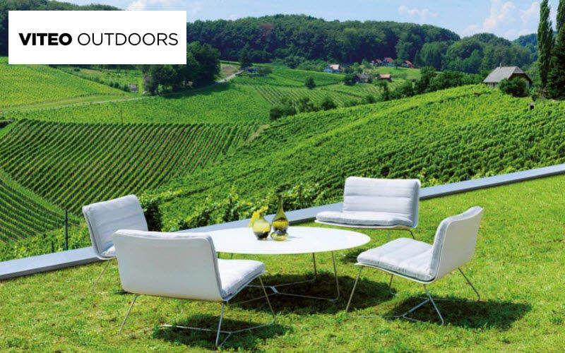 Viteo Outdoors Gartengarnitur Gartenmöbelgarnituren Gartenmöbel Garten-Pool | Design Modern