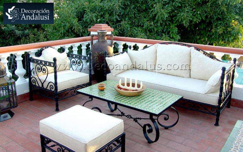 Decoracion Andalusia Gartengarnitur Gartenmöbelgarnituren Gartenmöbel Terrasse | Exotisch