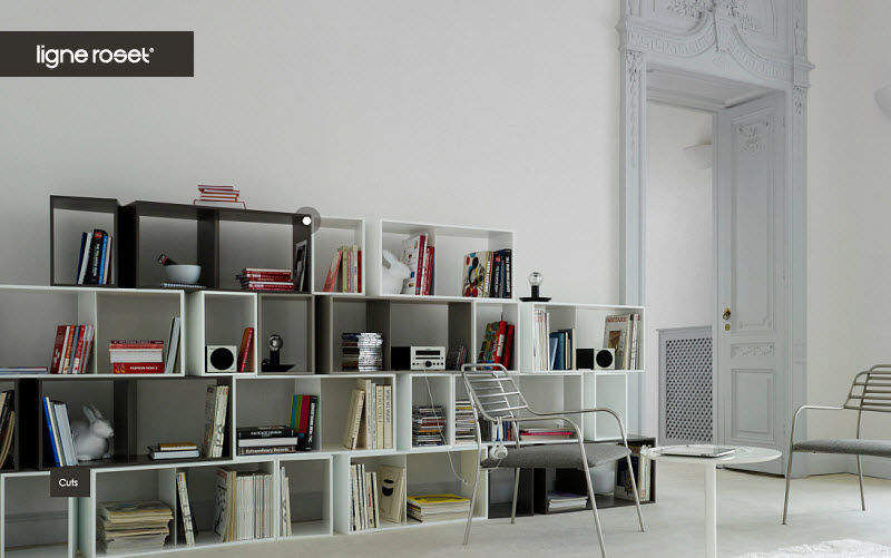 Ligne Roset Modulares Bücherregal Bücherregale Regale & Schränke Büro | Design Modern