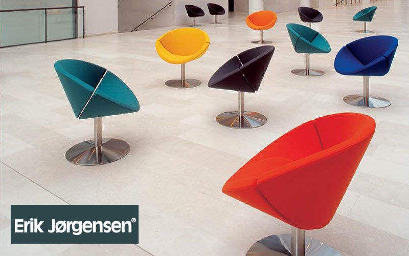 Erik Jørgensen Drehsessel Sessel Sitze & Sofas  |