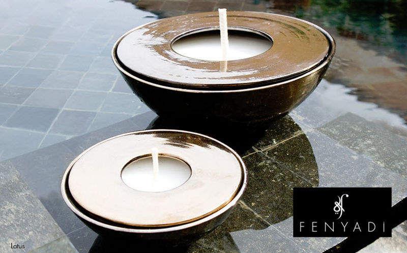 FENYADI Außenkerze Lampions & Kerzen Außenleuchten Terrasse | Exotisch