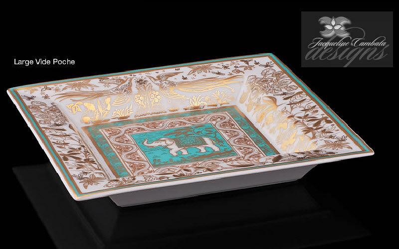 JACQUELINE CAMBATA DESIGNS Vide-Poche Schalen und Gefäße Dekorative Gegenstände Büro | Exotisch