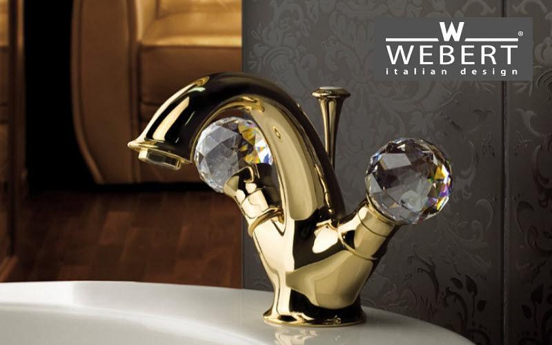 WEBERT 3-Loch Waschtisch Mischbatterie Wasserhähne Bad Sanitär  |