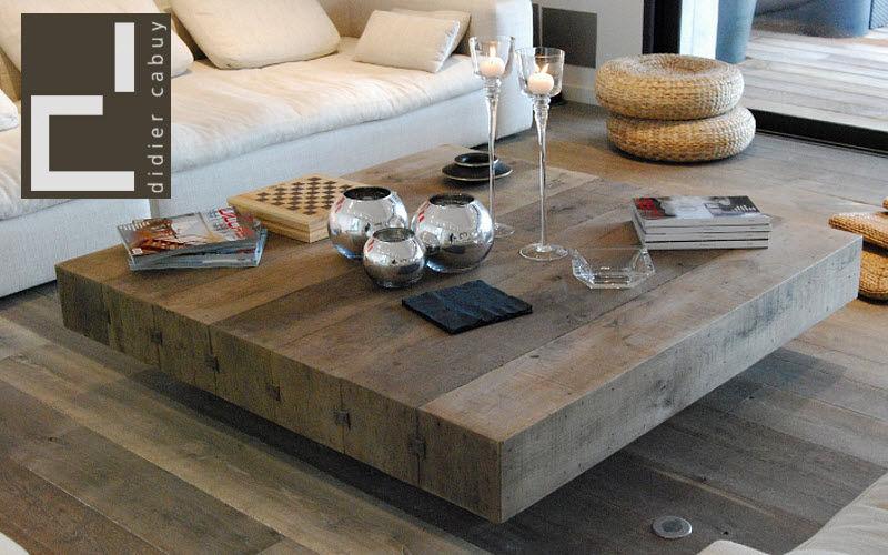 Cabuy Didier Couchtisch quadratisch Couchtische Tisch Wohnzimmer-Bar | Klassisch