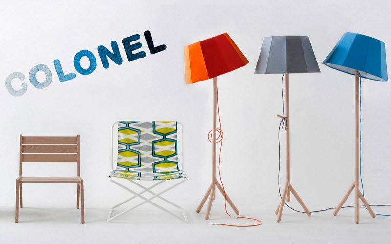 COLONEL Dreifuss Lampe Stehlampe Innenbeleuchtung  |
