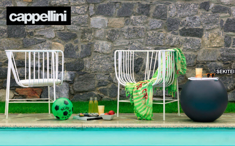 CAPPELLINI Gartensessel Gartensessel Gartenmöbel Garten-Pool | Design Modern