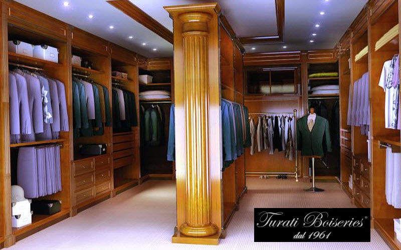 Turati Boiseries - Turati Cugini Dressing in U Ankleidezimmer Garderobe  |