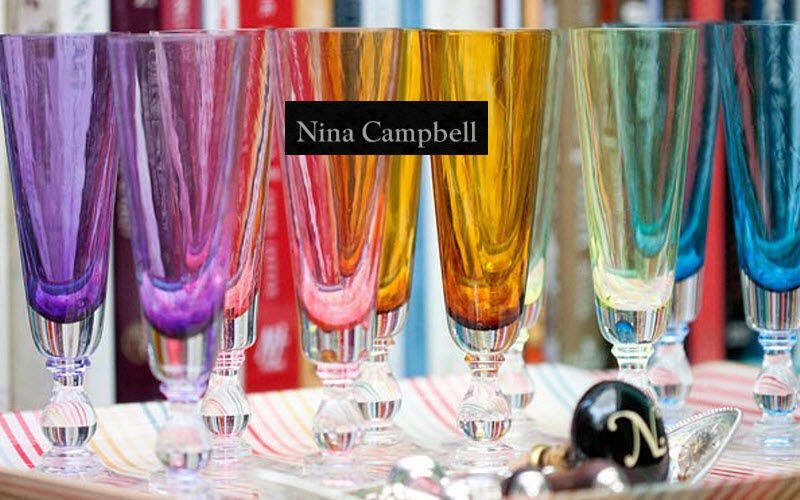 Nina Campbell Champagnerkelch Gläser Glaswaren   
