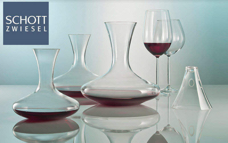 Schott Dekantierer Flaschen und Karaffen Glaswaren  |