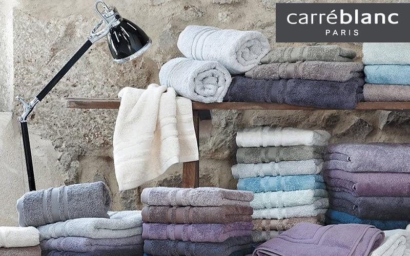Carré Blanc Handtuch Badwäsche Haushaltswäsche   