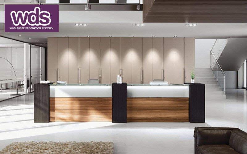 WORLDWIDE DECORATION SYSTEMS Empfangsbank Schreibtische & Tische Büro Arbeitsplatz | Design Modern