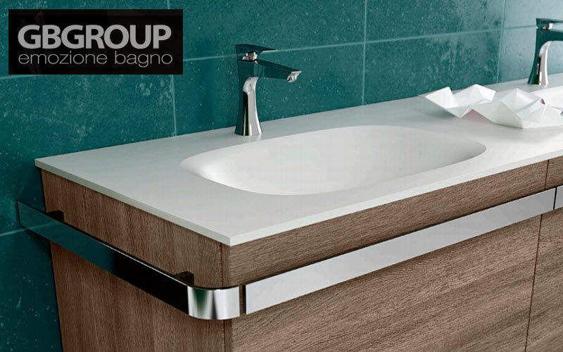 GB GROUP waschtischplatte Waschbecken Bad Sanitär  |