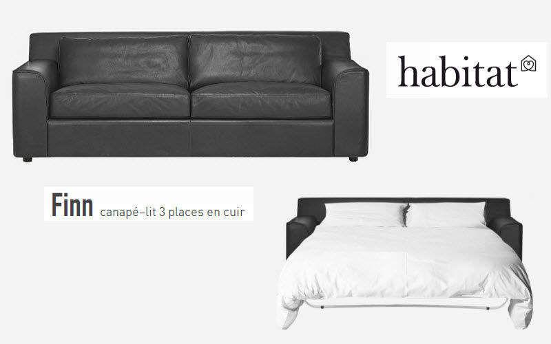 Habitat France Ausziehsofa Sofas Sitze & Sofas  |