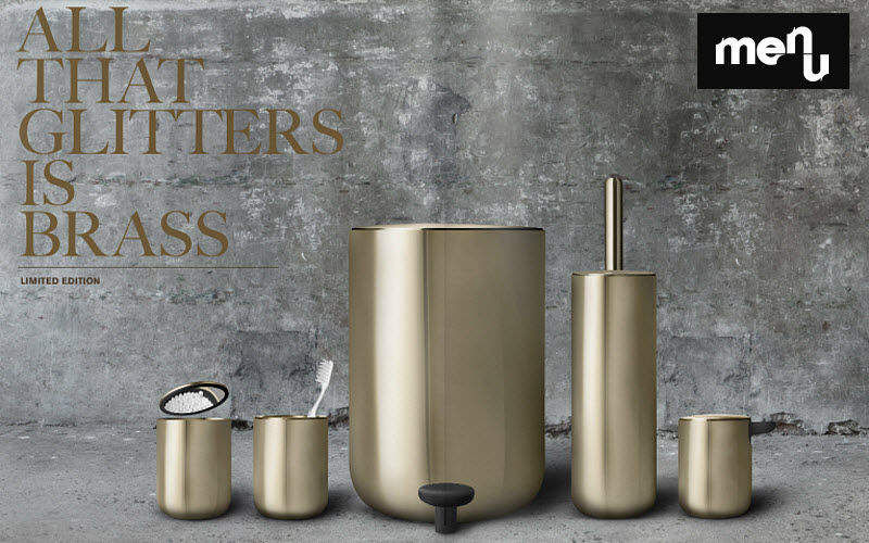 MENU Badezimmermulleimer Badezimmeraccessoires Bad Sanitär Badezimmer | Design Modern