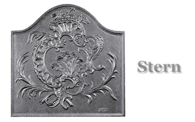 Stern Kaminplatte Platten Kamin  |