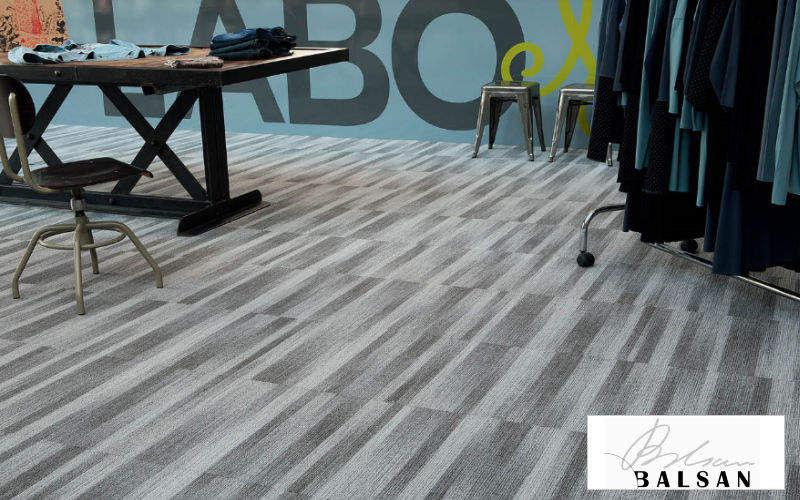 BALSAN Teppichfliese Teppichböden Böden Arbeitsplatz  