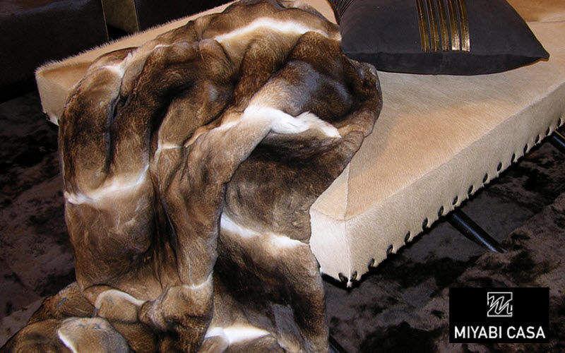 MIYABI CASA Sofaüberwurf Bettdecken und Plaids Haushaltswäsche  |