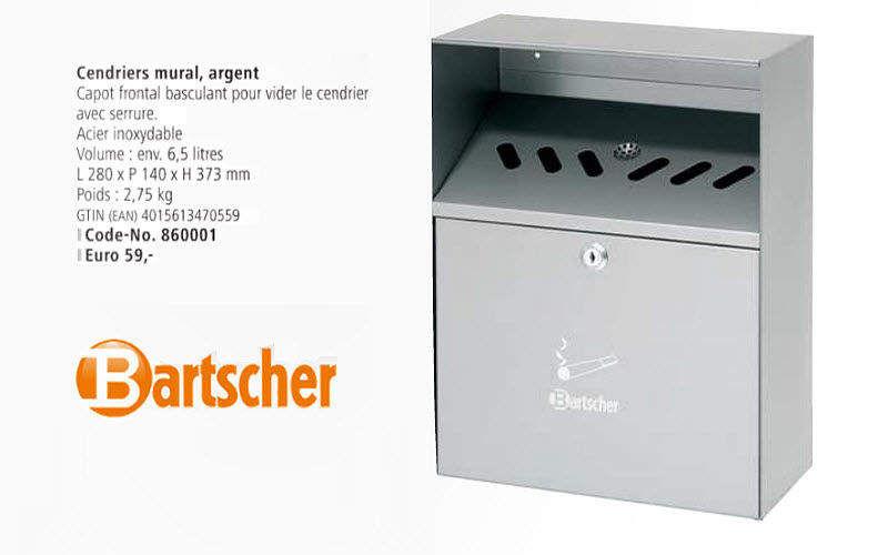 Bartscher Wandaschenbecher Bürobedarf Papetterie - Büro  |
