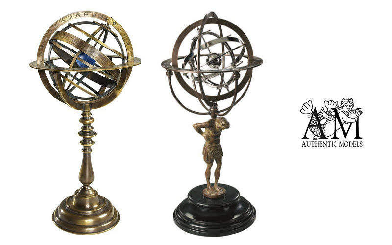 Authentic Models Astronomische Armillarsphäre Marinegegenstände Dekorative Gegenstände  |