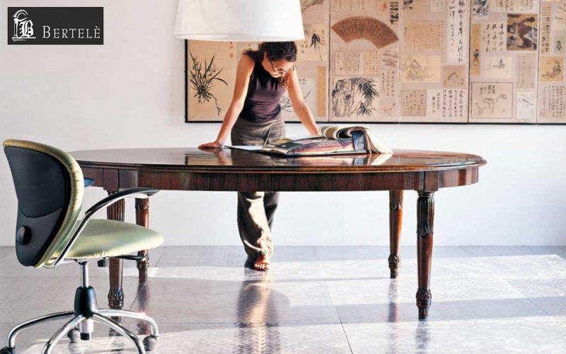 BERTELE' MOBILI Ovaler Esstisch Esstische Tisch  |