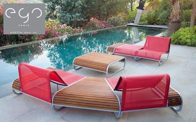 EGO Paris Gartengarnitur Gartenmöbelgarnituren Gartenmöbel Garten-Pool |