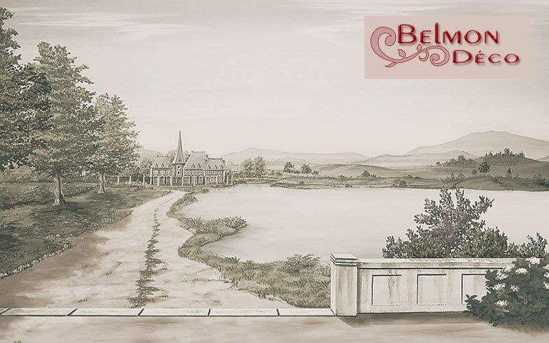 Belmon Déco Trompe l'oeil Malerei Wandschmuck Verzierung  |