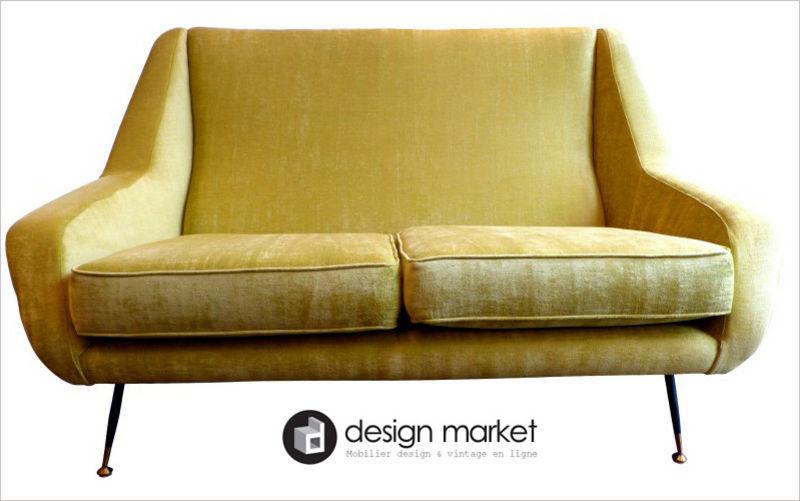 DESIGN MARKET Sofa 2-Sitzer Sofas Sitze & Sofas  |