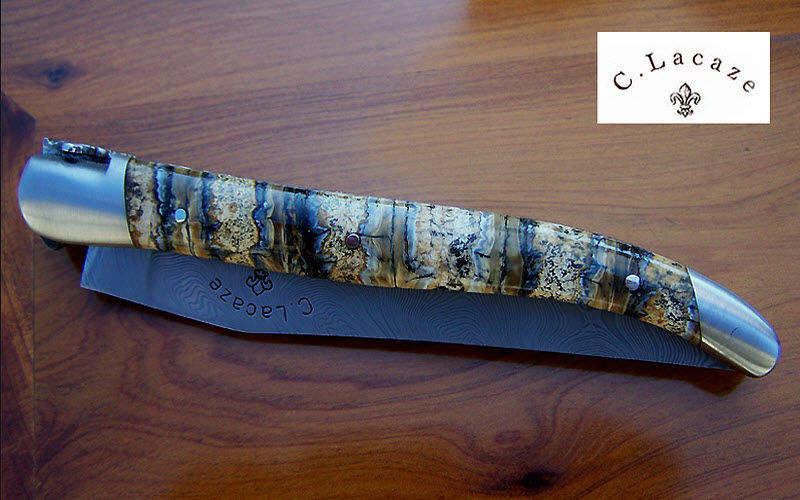 Laguiole Aveyron Klappmesser Messer Bestecke   