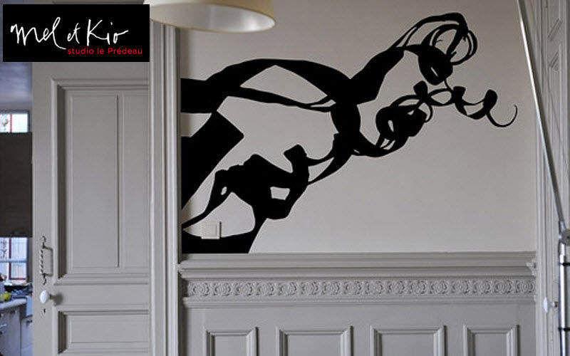 Mel et Kio Sticker Dekorativer Sticker Wände & Decken   