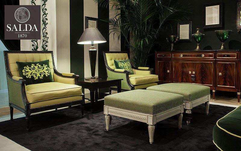 SALDA Bergère-Sessel Sessel Sitze & Sofas Wohnzimmer-Bar | Klassisch