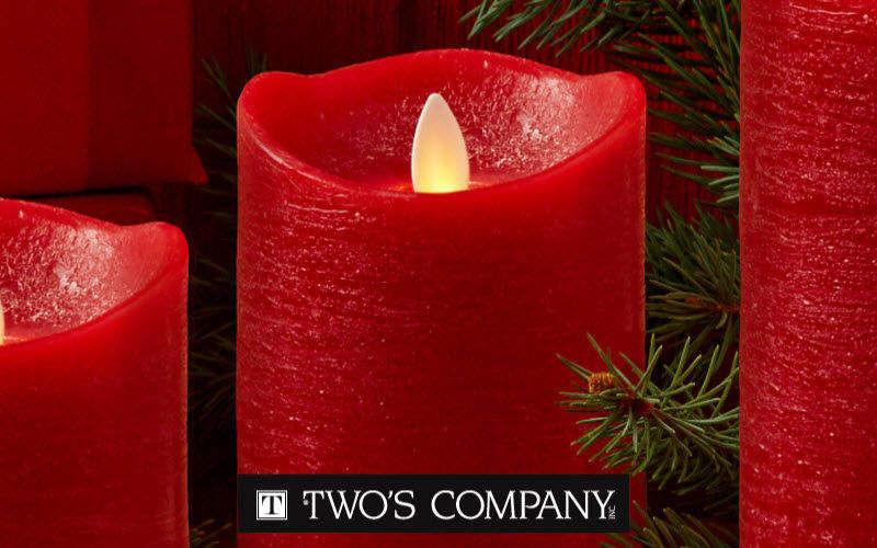 Two's Company Europe Magnum LED-Kerze Kerzen und Kerzenständer Dekorative Gegenstände  |