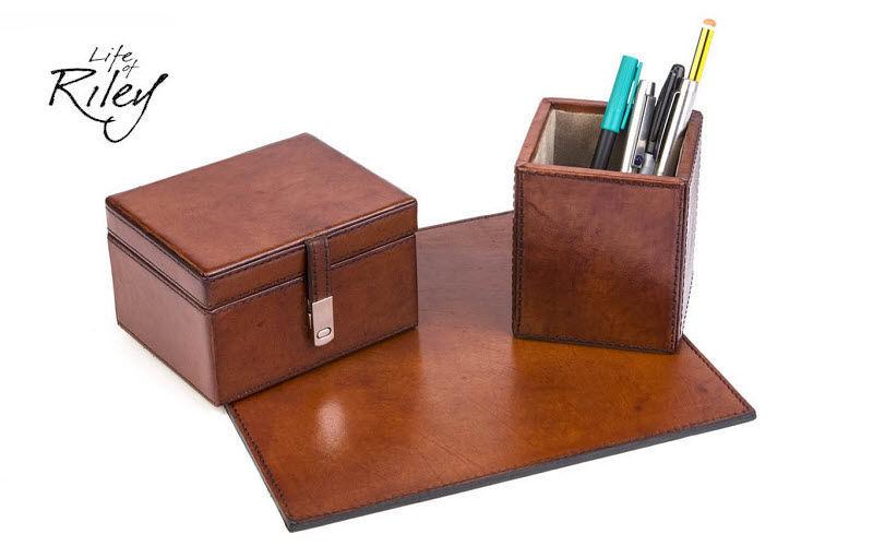 LIFE OF RILEY Schreibtischset Bürobedarf Papetterie - Büro  |