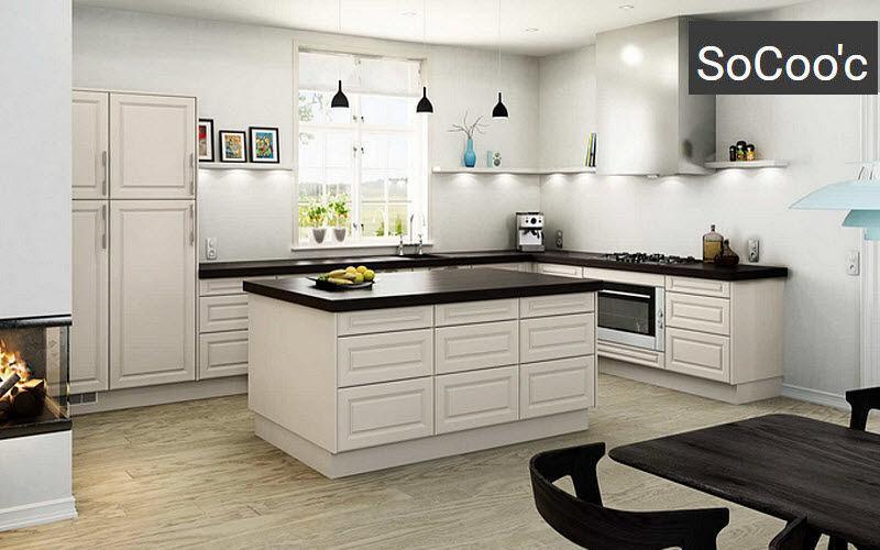 Socoo'c Traditionelle Küche Küchen Küchenausstattung  |