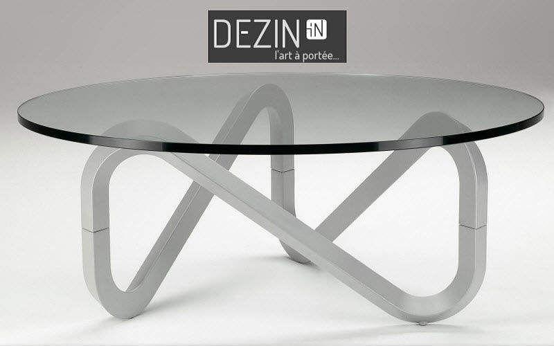 DEZIN-IN Runder Couchtisch Couchtische Tisch  |