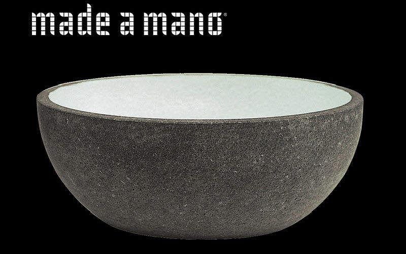 MADE A MANO - Rosario Parrinello Waschbecken freistehend Waschbecken Bad Sanitär   