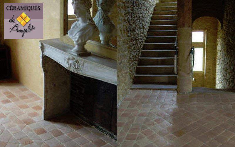 Ceramiques du Beaujolais Bodenfliese, Terrakotta Bodenfliesen Böden  |