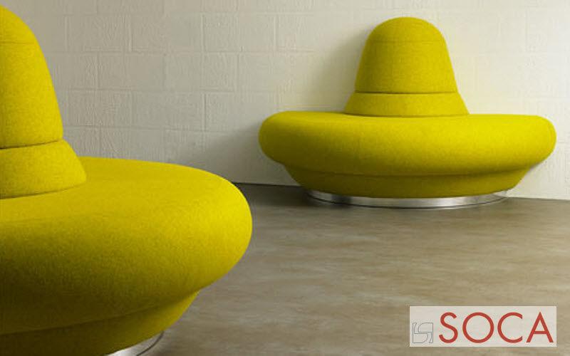 Soca Gepolsterte Bank Sitzbänke Sitze & Sofas  |