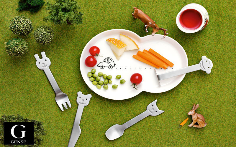 GENSE Kinderbesteck Tischzubehör für Kinder Kinderecke  |
