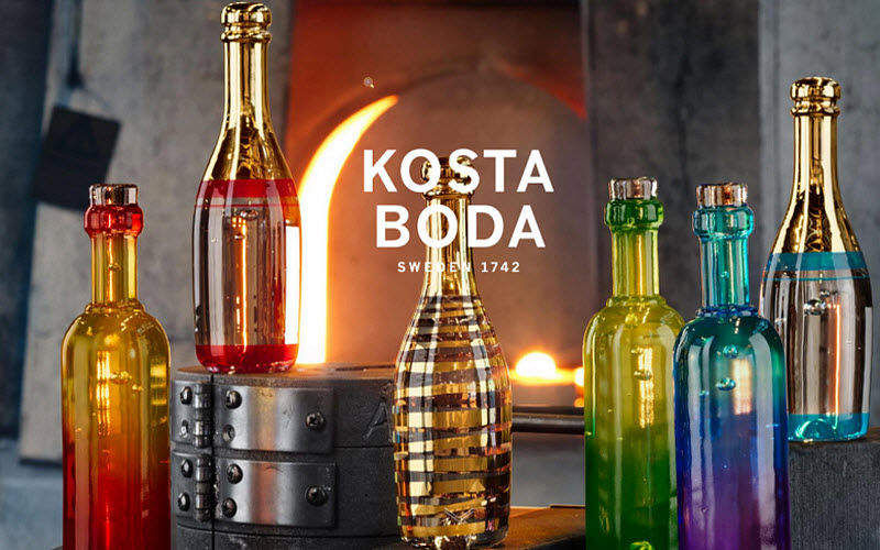 Kosta Boda Flasche Flaschen und Karaffen Glaswaren  |