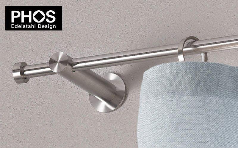 PHOS Design Gardinenstange Vorhangstangen und Zubehör Stoffe & Vorhänge  |