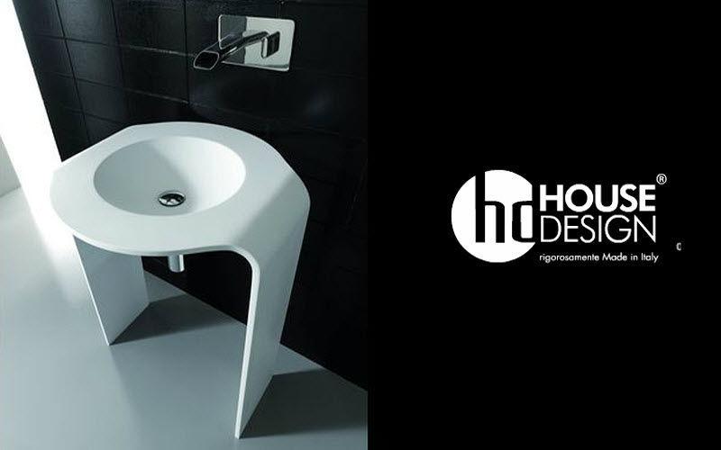 HOUSE DESIGN Waschbecken auf Füße Waschbecken Bad Sanitär  |